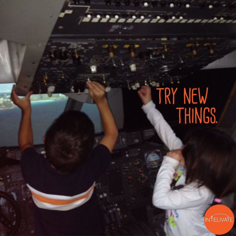 10 Ways To Effective Leadership Taught By Children Intelivate's Pamela Socorro's children explore a cockpit