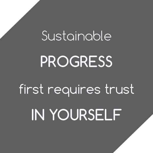 Tip: Sustainable progress first requires trust in yourself - authentic leadership and leadership competencies