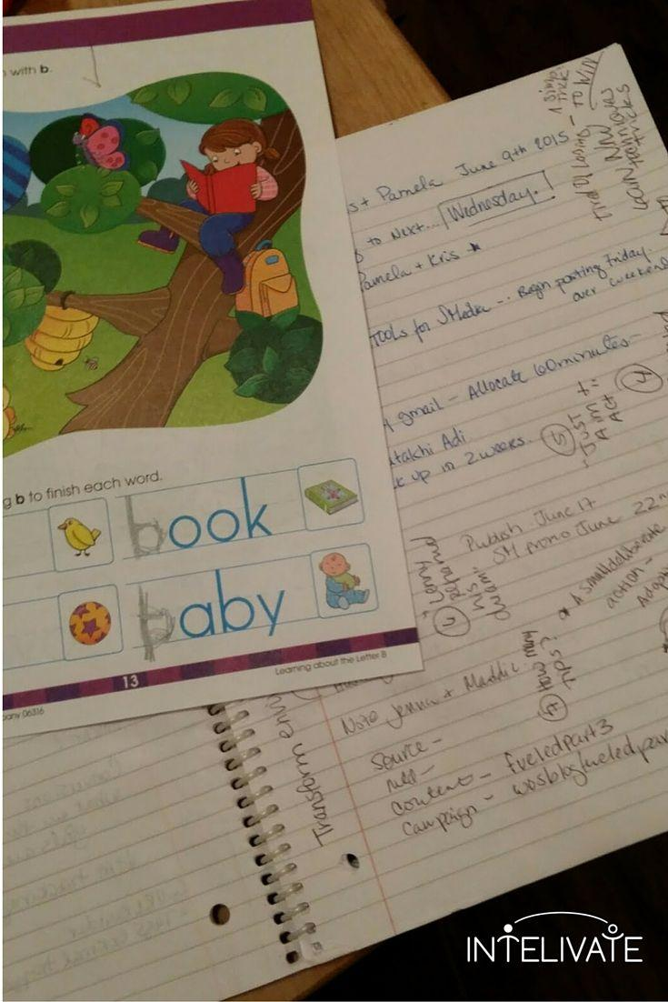 Kid homework over Intelivate homework as you can see in Intelivate's Pamela Socorro notes