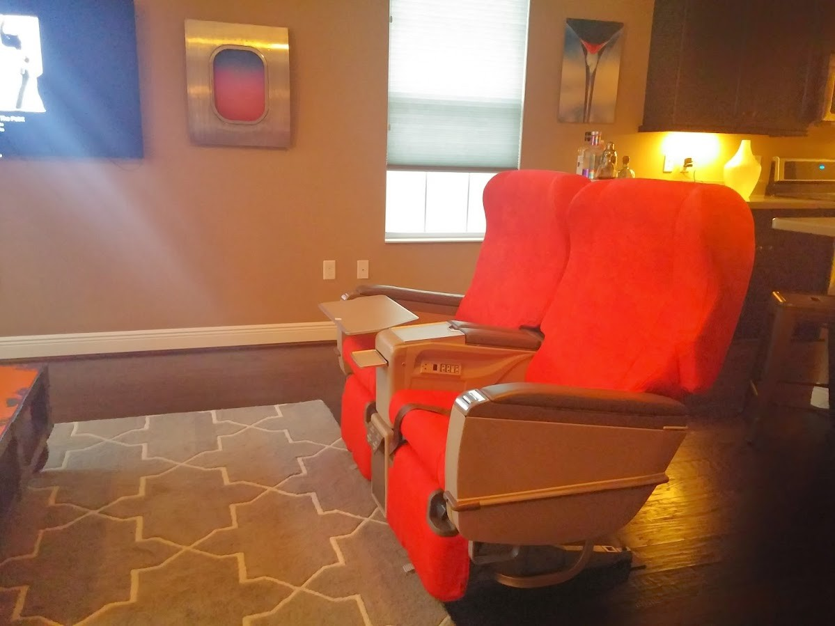 Life as a Jetsetting Consultant: I have real airline seats in my living room. Kris Fannin Career Strategies Intelivate