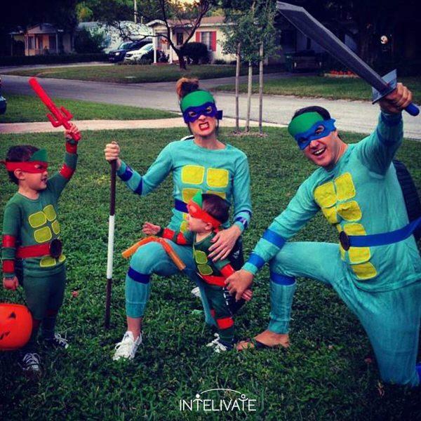 teenage mutant ninja turtles family