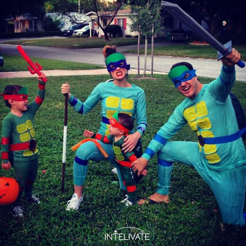 teenage mutant ninja turtles family