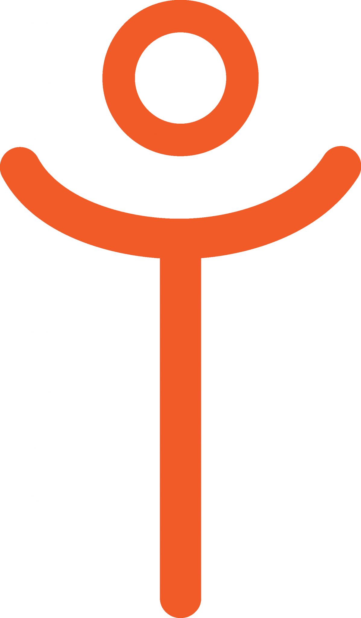 Intelivate Avatar Happy Orange
