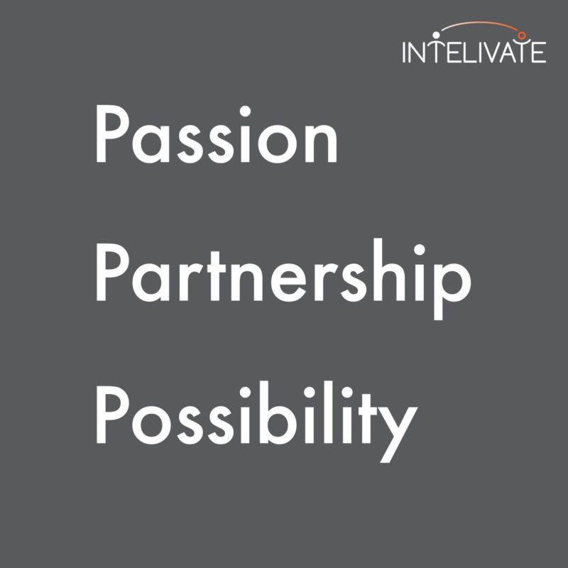 intelivate passion parternship possibility gray square web
