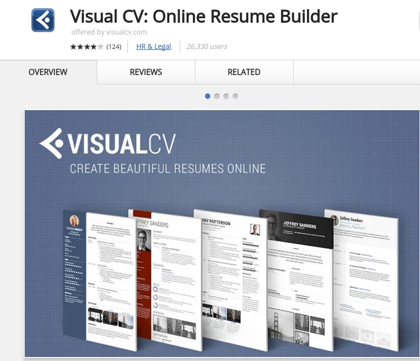 interactive resume builder