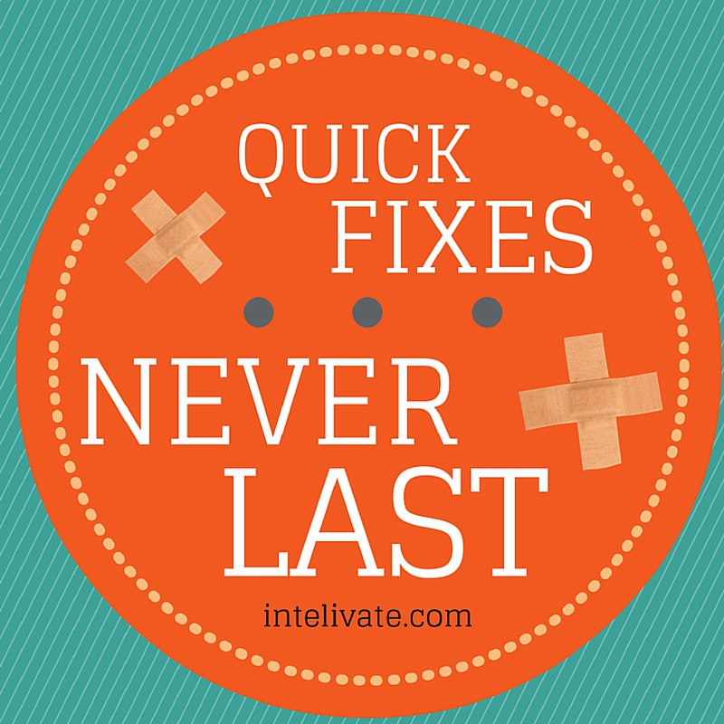 Intelivate Quick Fixes Never Last