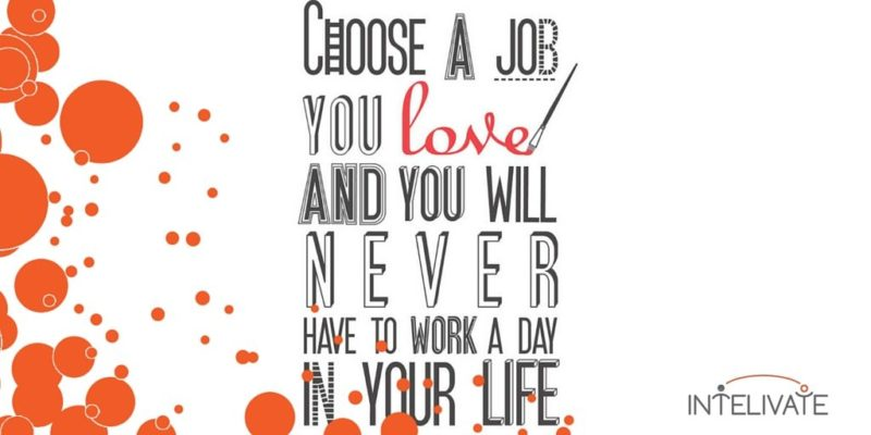 Intelivate Career Tests and Strategic Staffing - Choose a job you love and you will never have to work a day in your life