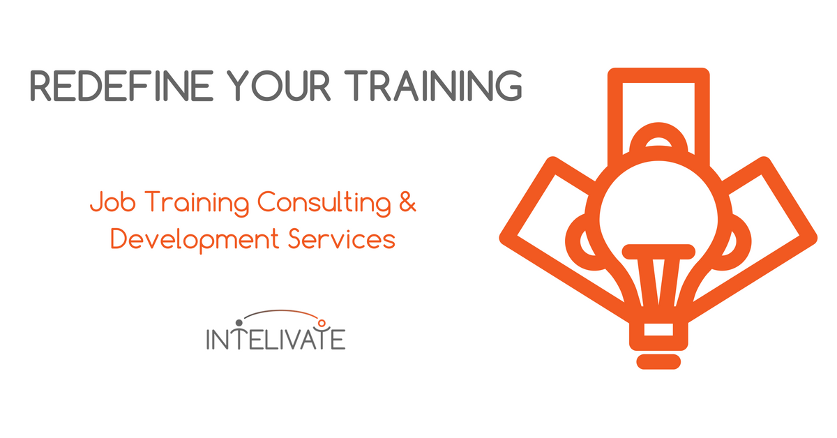 Training design consulting services intelivate for Design and development consultants