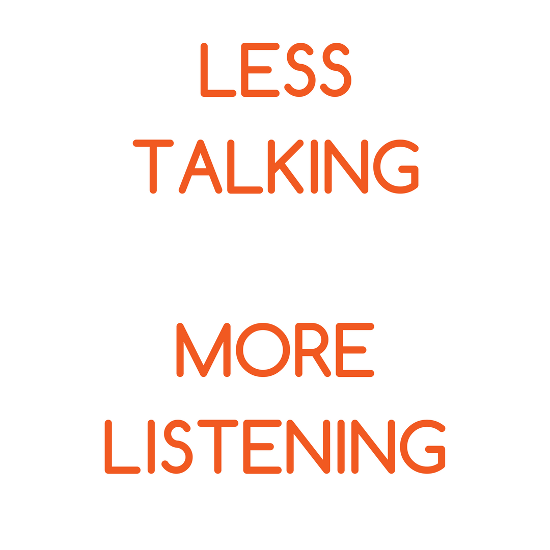less talking - more listening is required for proper identification and use of incentives and motivators - kris fannin intelivate