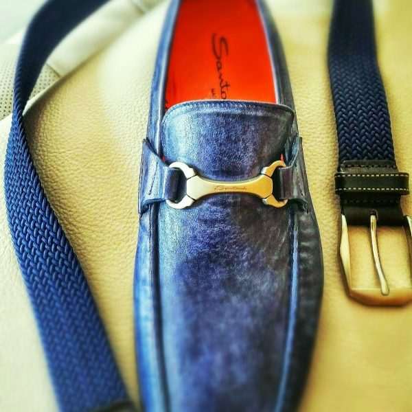 Interview Attire for Men: Make sure the belt and shoes closely match in color.